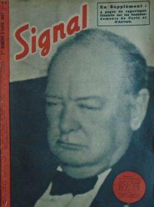churchill-vapuleado-por-la-propaganda-nazi-signal-version-francesa-abril-de-1940